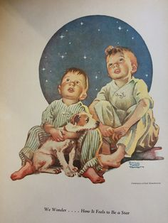 """Author: Hunter, Frances Tipton. Notes: Print image measures 7 1/4"""" x 9 1/2"""" and with the border, it measures 9 1/2"""" x 12 1/2"""" There is print on the reverse side of each print. This print is from a book printed in 1935.   eBay!"""