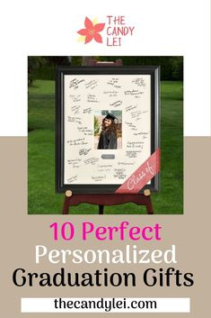 Give your grad something truly special with one of these personalized graduation gifts. Personalized gifts are a wonderful way to celebrate your graduate's achievement. Graduation Gifts For Guys, Personalized Graduation Gifts, Student Jobs, Personalized Picture Frames, Gifts For Your Boyfriend, College Fun, Guy Pictures, Gift Guide, Birthday Gifts