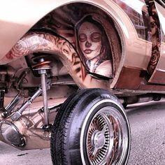 Lowrider Custom Paint Jobs, Custom Cars, Custom Wheels, Chevrolet Impala, Hydraulic Cars, Arte Lowrider, Old School Cars, Pinstriping, Us Cars