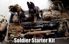 Troops - soldier starter kit