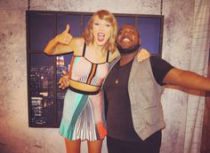Pre-show press meet and greet on night 1 of the 1989 World Tour in East Rutherford 7.10.15