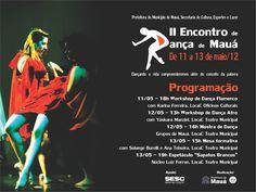 """O II Encontro de Dança das Oficinas Culturais de Mauá recebe programação especial no Teatro Municipal, com entrada Catraca Livre, dias 12 e 13. Confira a programação: Dia 12 (sábado) 13h - Workshop de Dança Afro (com Yáskara Manzini): A dança afro pode ser definida como uma dança ritmada nos toques de atabaque, coreografada com...<br /><a class=""""more-link"""" href=""""https://catracalivre.com.br/geral/agenda/barato/maua-promove-final-de-semana-dancante/"""">Continue lendo »</a>"""