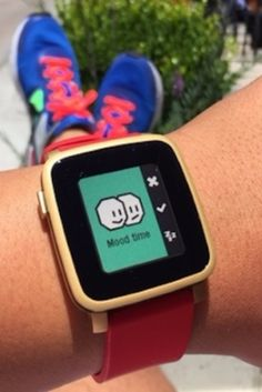 Smartwatch owners are encouraged to participate in a week-long, mood-recording experiment.