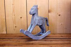 Αλογάκι Κουνιστό Σιέλ WI7593-3 Garden Sculpture, Outdoor Decor, Home Decor, Decoration Home, Room Decor, Interior Decorating