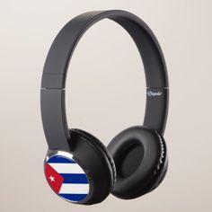 Cuba Flag Headphones - customizable diy