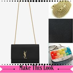 929cf816efd4 Emmaline Bags  Sewing Patterns and Purse Supplies  Handmade Couture  Make  this look - YSL Black Satchel