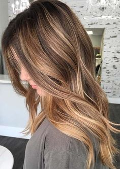 15+ Most Romantic Long Layered Hairstyles With Balayage Highlights Not To Miss Out