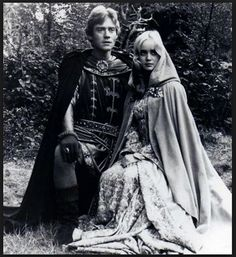 Anthony Andrews as Wilfred of Ivanhoe  Lysette Anthony as Lady Rowena