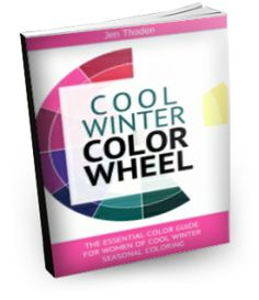 Cool Winter Style Guide - Discover how to wear your cool winter colors through the use of the cool winter color wheel and color combinations. Lots of inspiration! Click to learn more...