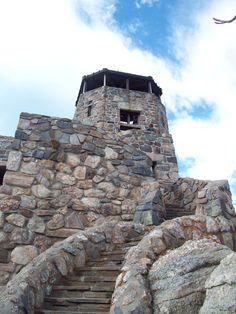 Harney Peak  Black Hills National Forest  Black Hills, South Dakota