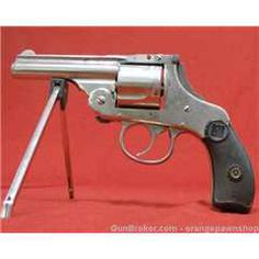 Antique Iver Johnson Model 2 32 Top Break Revolver Revolvers, Old West, Pistols, Shotgun, Firearms, Hand Guns, Weapons, Smoking, Action