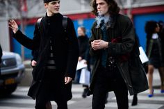New York Fashion Week Men's Fall 2016 Street Style - -Wmag