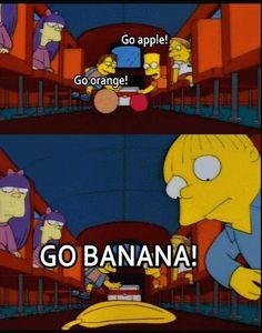 Go Banana!  The Simpsons