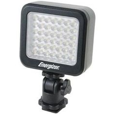 Another great product: Energizer 42-Bulb LED Compact Digital Camera Video Light Energizer 42-Bulb Compact Digital Camera Flash & Video Light Compact LED photo light. The Energizer ENL-20K 42-bulb Compact LED Light is compatible with most DSLR cameras with a standard shoe mount and can also be attached to a tripod. It features an adjustable dimmer and built-in diffuser for soft illumination  making it possible to shoot clear videos. Includes rechargeable Li-40B battery and