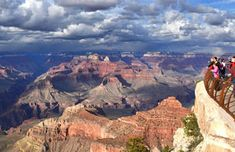 The Grand Canyon (A United States landmark found in Arizona) is 227 river miles long, 18 miles wide, and as much as a mile deep. You can't know how amazing it is until you see it with your own eyes. (Not unlike the rest of the places on this list.) Check it out, okay?