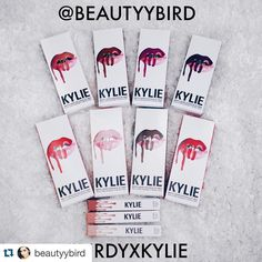 #Repost @beautyybird with @repostapp.  GIVEAWAY TIME!  I will be giving away 8 matte liquid lipsticks and all 3 glosses from @kyliecosmetics  Rules to enter the giveaway  Must be following me @beautyybird   Must repost this photo (only 1 time) and hashtag #BIRDYxKYLIE  Tag 3 of your Besties   PROFILE MUST BE PUBLIC FOR ME TO SEE YOUR ENTRY   Giveaway ends May 29!   Giveaway is International   Winner will be announced on my Instagram once contacted   No emails about the giveaway or else you…