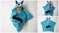 star fleece baby wrap stern schlafsack pucktuch swaddle einschlagdecke monster halloween fasching von bighead5005 auf Etsy