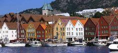 Bryggen, el muelle hanseático de Bergen, Noruega - Fotografía: Terje Rakke/Nordic Life/Fjord Norway