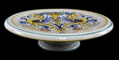 shopgoodwill.com: Deruta Pottery Footed Platter Made In Italy
