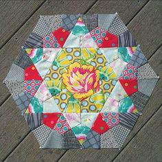Rose Star Quilt - Block 3