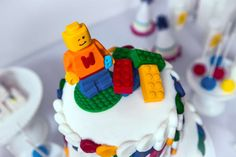 Lego Party with a Modern Twist | CatchMyParty.com