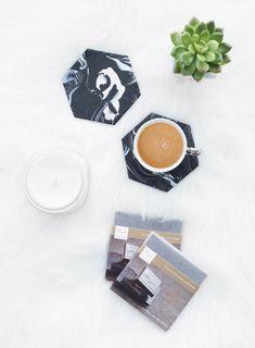 DIY Marmor Untersetzer selber machen