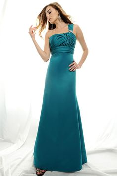 Not necessarily this dress, but this turquoise color for dresses, it would flatter everyone :)