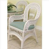 HowTo Painting Wicker Furniture With Spray Paint Painting Wicker Furniture, White Wicker Furniture, Old Wicker, Sunroom Furniture, Furniture Showroom, Painted Furniture, Wicker Rocker, Painted Wicker, Stained Concrete