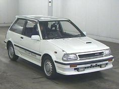 Learn more about 1987 Toyota Starlet Turbo S on Bring a Trailer, the home of the best vintage and classic cars online. Triumph Motorcycles, Custom Motorcycles, Toyota Racing Development, Toyota Starlet, Custom Metal Fabrication, Japan Cars, Modified Cars, Small Cars, Classic Cars Online