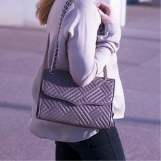 Rebecca Minkoff Quilted Leather Large Affair Bag for sale on Pose!