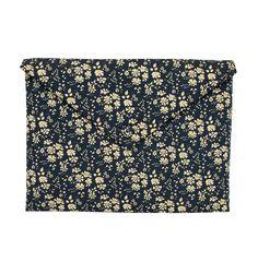 Pochette MacBook Pro 13'' - tissu Liberty Capel l Atelier Charlotte Auzou