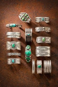 ' That's how turquoise was called by some Native American tribes. Wearing pieces of sky in a turquoise necklace is a provocative and attractive idea. Turquoise Jewelry, Boho Jewelry, Turquoise Bracelet, Jewelry Rings, Handmade Jewelry, Jewelry Design, Fashion Jewelry, Jewlery, Turquoise Cuff