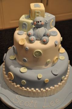 Christening Cake  Cake by Gilly B Cakery