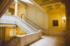Wisconsin Historical Society (Dewitz Photography) - marble staircase