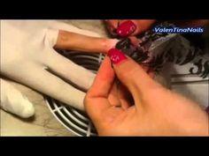 nail art – ricostruzione sculturale con pizzo