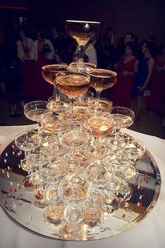 Champagne Fountain, Seamill Hydro