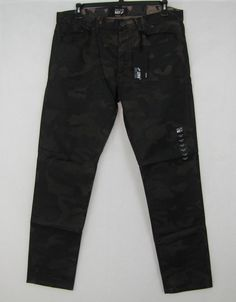 William Rast Jeans Men's Coating Taper Camo Jeans Size 36/32 NEW #WilliamRast #Taper 29.99