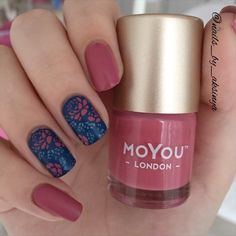 Mani with @moyou_london Flower Power collection 06 #nailsartvideos #nailarttutorial #nailsclip #nailvideo #nailpolish #nailartvids…