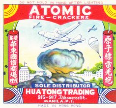 vintage everyday: Cool Vintage Chinese Firecracker Labels