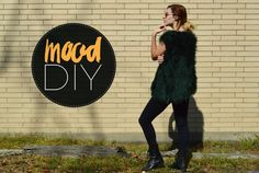 Mood DIY: How to Sew an Easy Faux Fur Vest