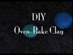 ▶ How to make your own oven-bake clay - YouTube