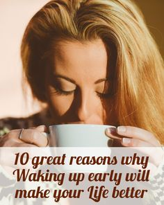 10 great reasons why waking up early will make your life better  #reasons #wakingup #early #life #better  LINK: http://liveyourdreams.tips/life-improvement/10-great-reasons-why-waking-up-early-will-make-your-life-better/