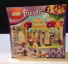 LEGO Friends # 41006 NEW Downtown Bakery Building Set W/ Mia & Danielle MINIFIGS #LEGO