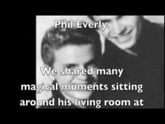"""Phil Everly RIP """"I Just Know"""""""