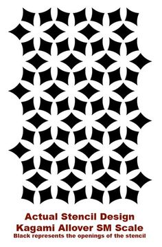 stencil pattern for cutout canvas?