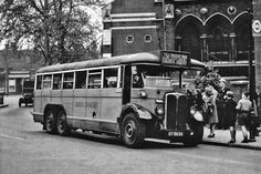 This pic could have been taken in the 1940's. The Buses At Work site www.busesatwork.co.uk/Routes/236.htm confirms that this route was worked by the Leyland TD class from Tottenham AR and Leyton T garages from October 1949 to November 1958, when RF's then took over. But it's possible that LTL 1164 from Leyton has been drafted in during this time due to shortages. Anyway, a lovely picture of this old six-wheeler, which is at a bus stop and flag similar to the type in pic ...