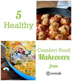 5 Healthy Comfort Food Makeovers