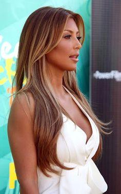 bronze hair