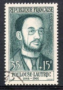 France Stamp - Toulouse Lautrec 1864-1901