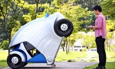 Armadillo-T Car Folds Into Itself to Save Space When Parked / TechNews24h.com